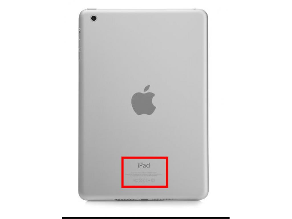 Como identificar tu modelo de Ipad