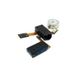 CABLE FLEX VIBRADOR/PARLANTE/CONECTOR AURICULARES/MICROFONO SAMSUNG GALAXY S2 i9100