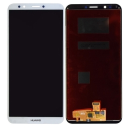 PANTALLA LCD DISPLAY Y TOUCH HUAWEI Y7 2018 BLANCO