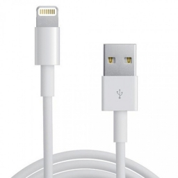 CABLE USB CARGA Y DATOS LIGHTNING PARA IPHONE y iPAD