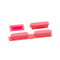 SET BOTONES ROSADO IPHONE 5C
