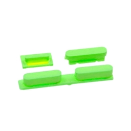 SET BOTONES VERDE IPHONE 5C