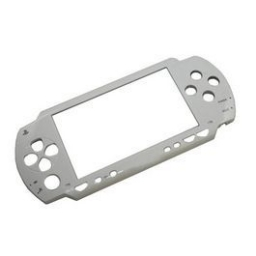 FRONTAL CARCASA PSP1000 (FAT) BLANCO