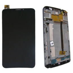 PANTALLA LCD DISPLAY CON TOUCH ALCATEL OT 8020 CON MARCO