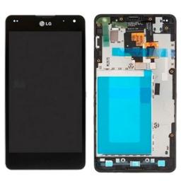 PANTALLA LCD DISPLAY CON TÁCTIL LG E971/E973/E975/E977/E987 OPTIMUS G CON MARCO