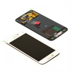 PANTALLA LCD DISPLAY CON TOUCH SAMSUNG G800 GALAXY S5 MINI BLANCO