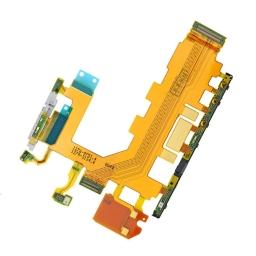 FLEX SONY D6502 D6503 D6543 L50W XPERIA Z2 BOTONES LATERALES Y MICROFONO