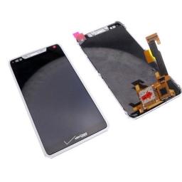 PANTALLA LCD DISPLAY CON TOUCH MOTOROLA XT907 RAZR M CON MARCO BLANCA