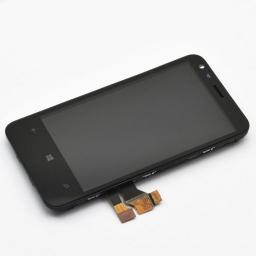 PANTALLA LCD DISPLAY CON TOUCH NOKIA LUMIA 620 CON MARCO