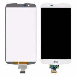 PANTALLA LCD DISPLAY CON TOUCH LG K10 K420 K430 BLANCO