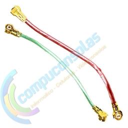 CABLE FLEX COAXIAL X2 VERDE Y ROJO SAMSUNG GALAXY S5 MINI G800
