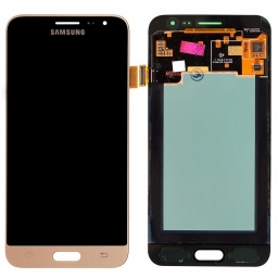 PANTALLA LCD DISPLAY CON TOUCH SAMSUNG GALAXY J3 2016 J320 DORADA