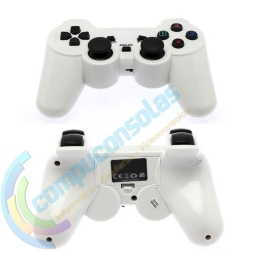 JOYSTICK INALAMBRICO PLAYSTATION 2 COMPATIBLE BLANCO
