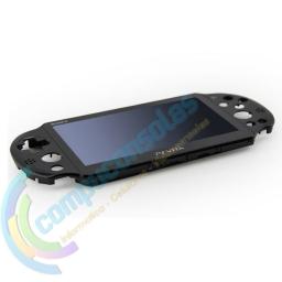 PANTALLA LCD DISPLAY CON TÁCTIL Y CARCASA SUPERIOR PSP VITA 2000 NEGRA