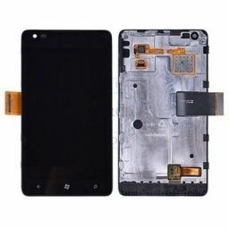 PANTALLA LCD DISPLAY CON TOUCH NOKIA LUMIA 900 CON MARCO