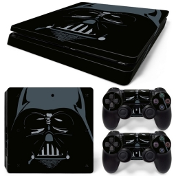 VINILO SKIN ADHESIVO PEGOTIN PERSONALIZAR PLAYSTATION 4 SLIM DARTH VADER