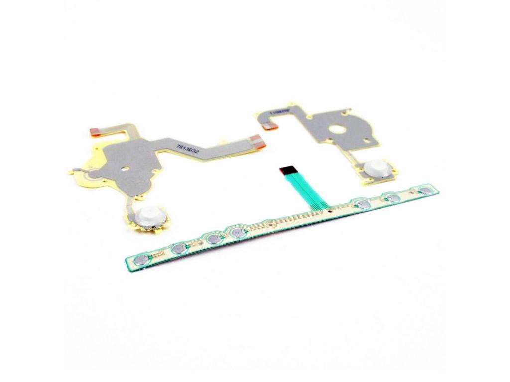 CABLES SENSORES DE DIRECCIONALES Y BOTONES  L,R; HOME START PSP2000