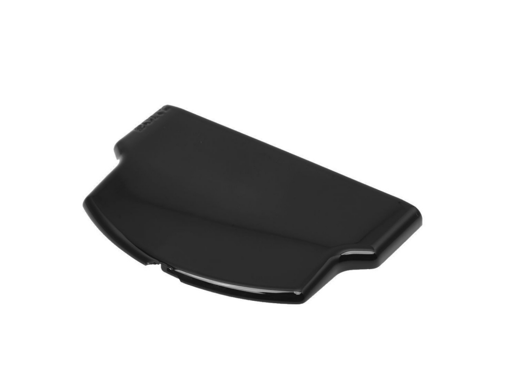 TAPA BATERIA PSP2000 / 3000 NEGRA
