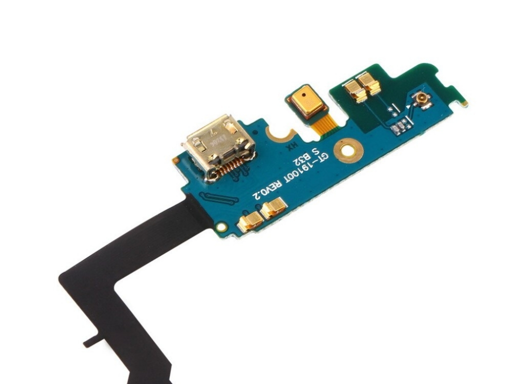 CONECTOR CARGA MICRO USB Y MICROFONO SAMSUNG GALAXY S2 i9100