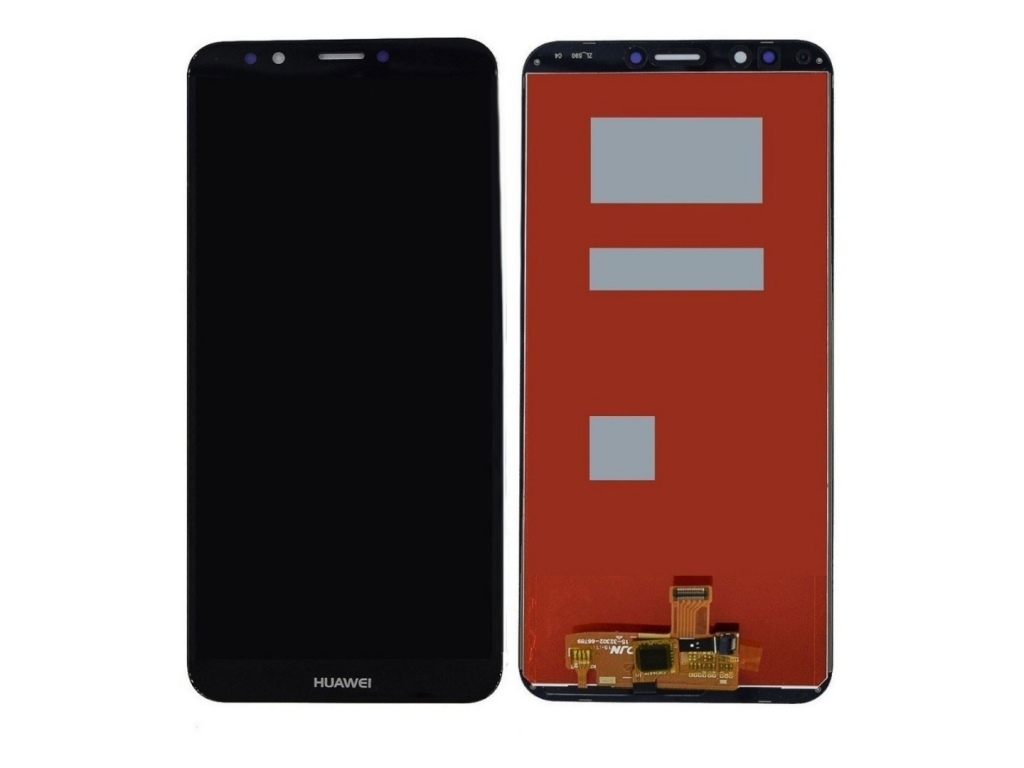 PANTALLA LCD DISPLAY Y TOUCH HUAWEI Y7 2018 NEGRO