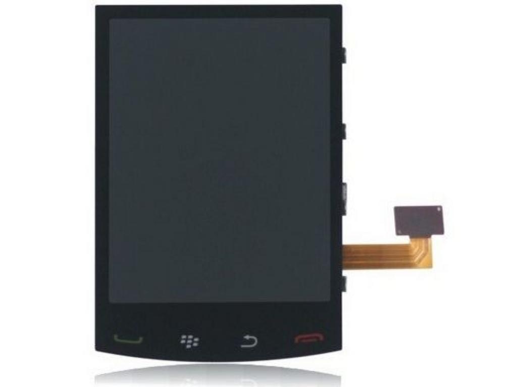 PANTALLA LCD DISPLAY CON TOUCH BLACKBERRY 9520 9550 NEGRA