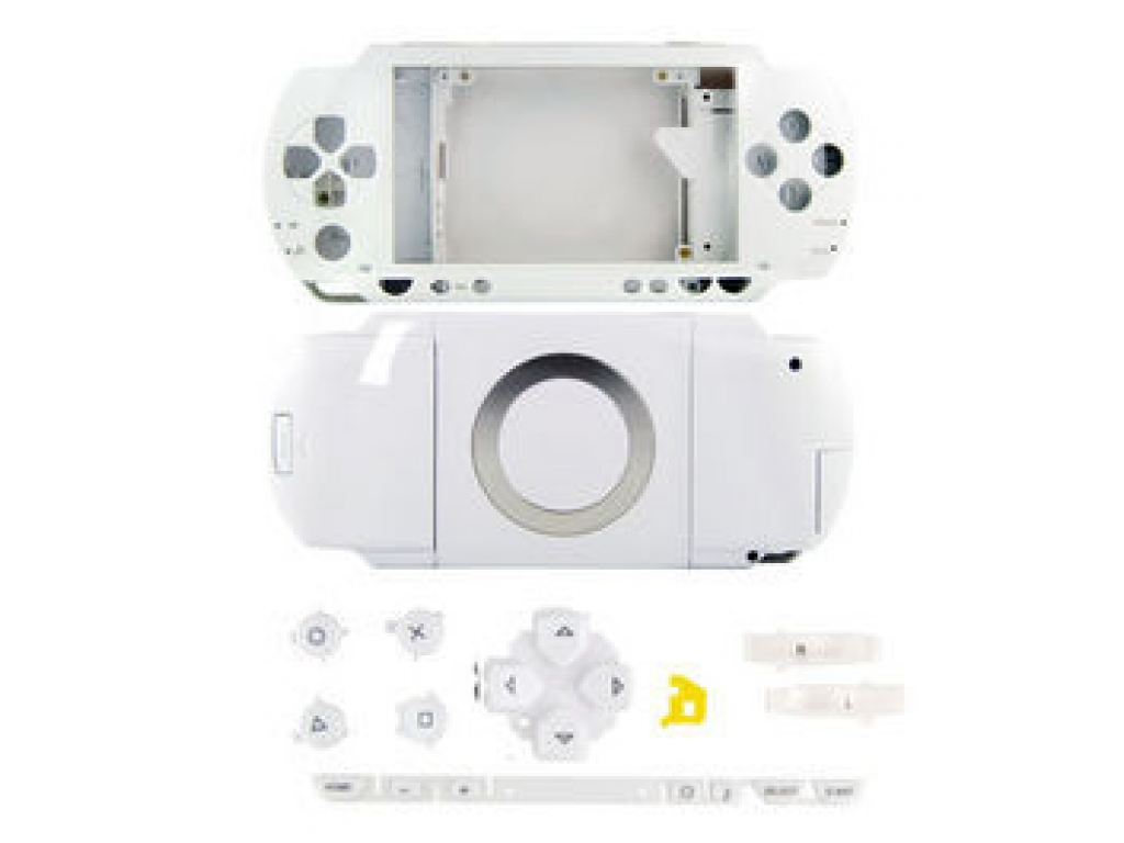 CARCASA COMPLETA PSP1000 (FAT) BLANCA