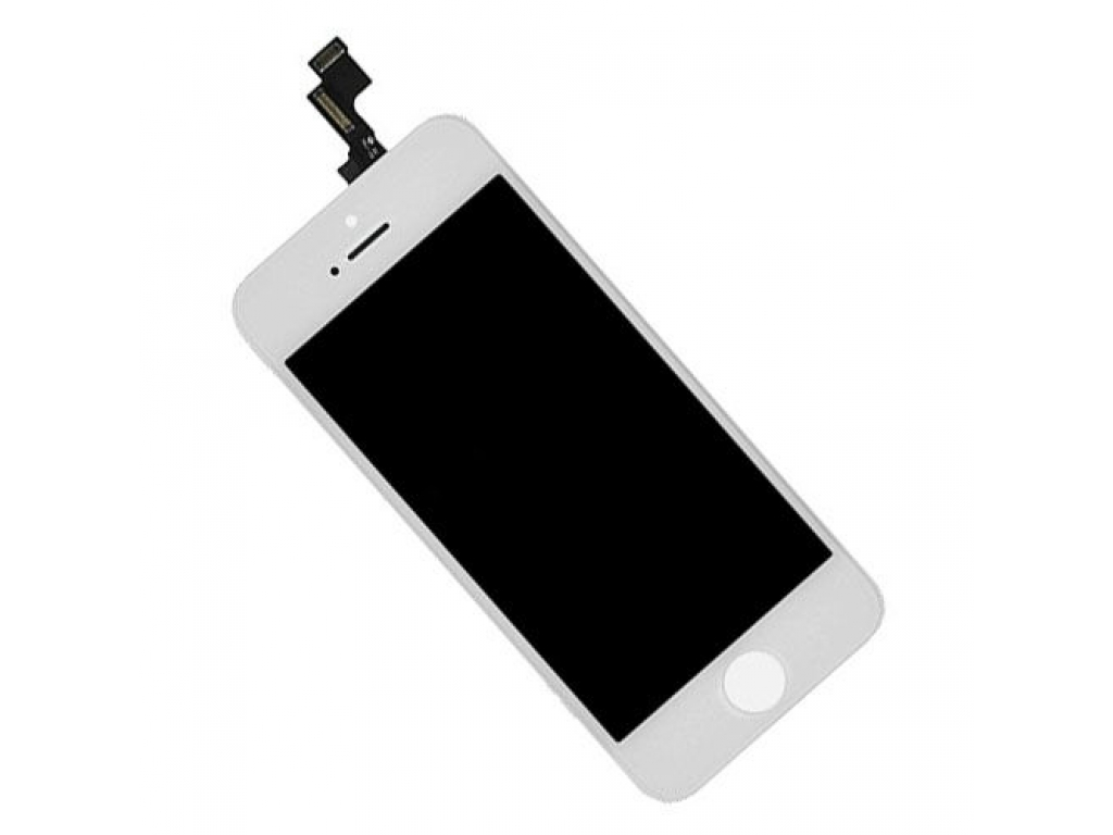 PANTALLA LCD DISPLAY CON TOUCH IPHONE 5S BLANCA