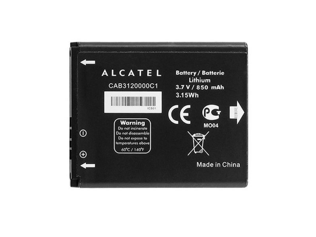 BATERÍA ALCATEL BY42 ONE TOUCH 2005D ONE TOUCH 536