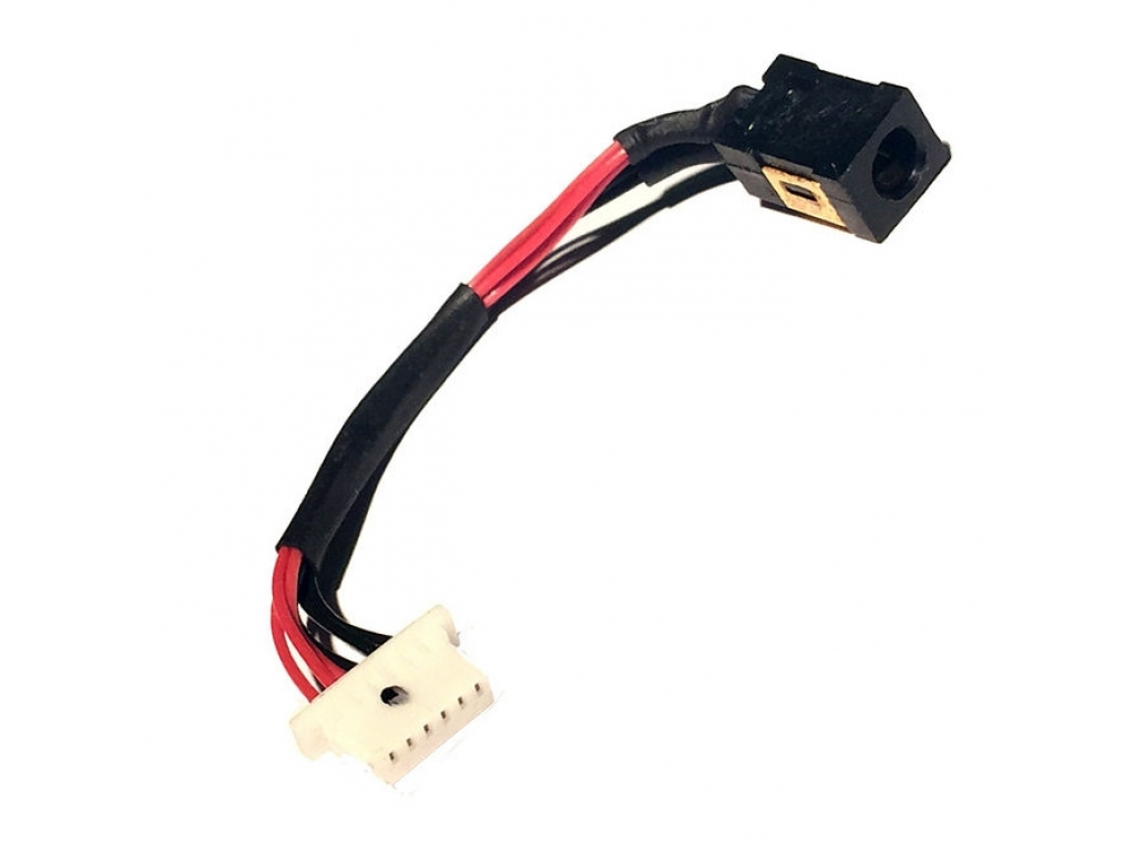 CONECTOR CARGA TABLET PIN REDONDO 0.7MM MODELO 440 CON CABLE