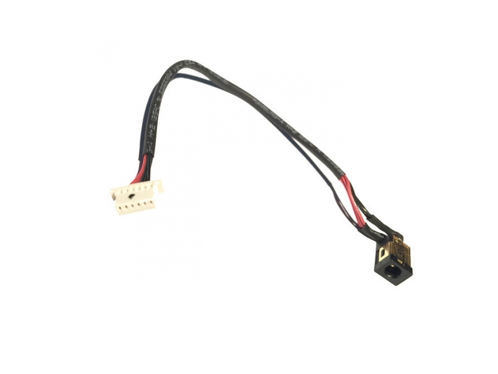 CONECTOR CARGA TABLET PIN REDONDO 0.7MM MODELO 439 CON CABLE