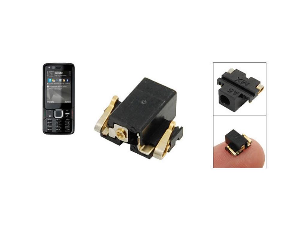 CONECTOR CARGA NOKIA  3600 FOLD  3600 SLIDE 3650 701 C7-00 N78