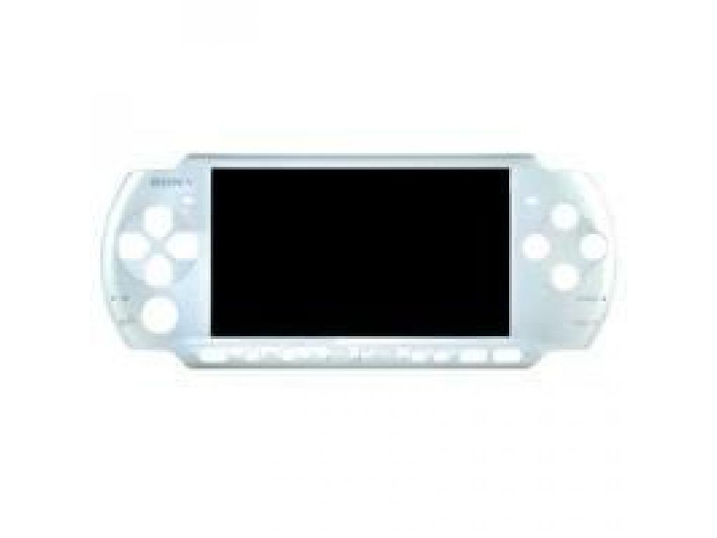 FRONTAL CARCASA PSP2000 (SLIM) ORIGINAL PLATA