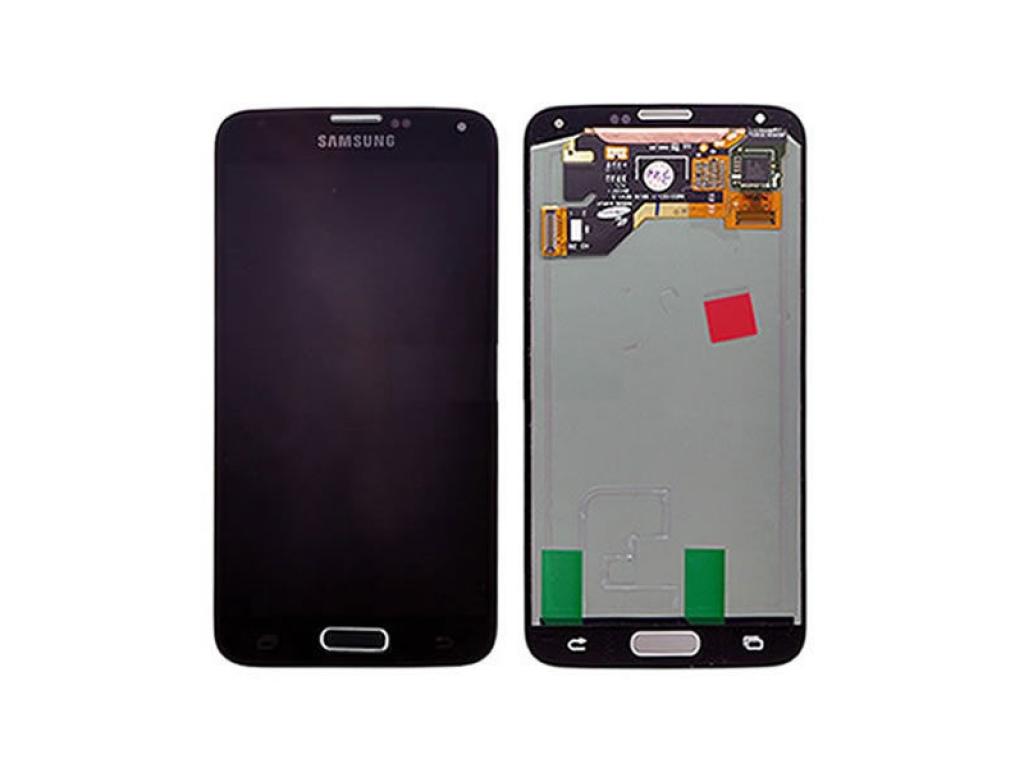 PANTALLA LCD DISPLAY CON TOUCH SAMSUNG GALAXY S5 I9600 G900 NEGRO