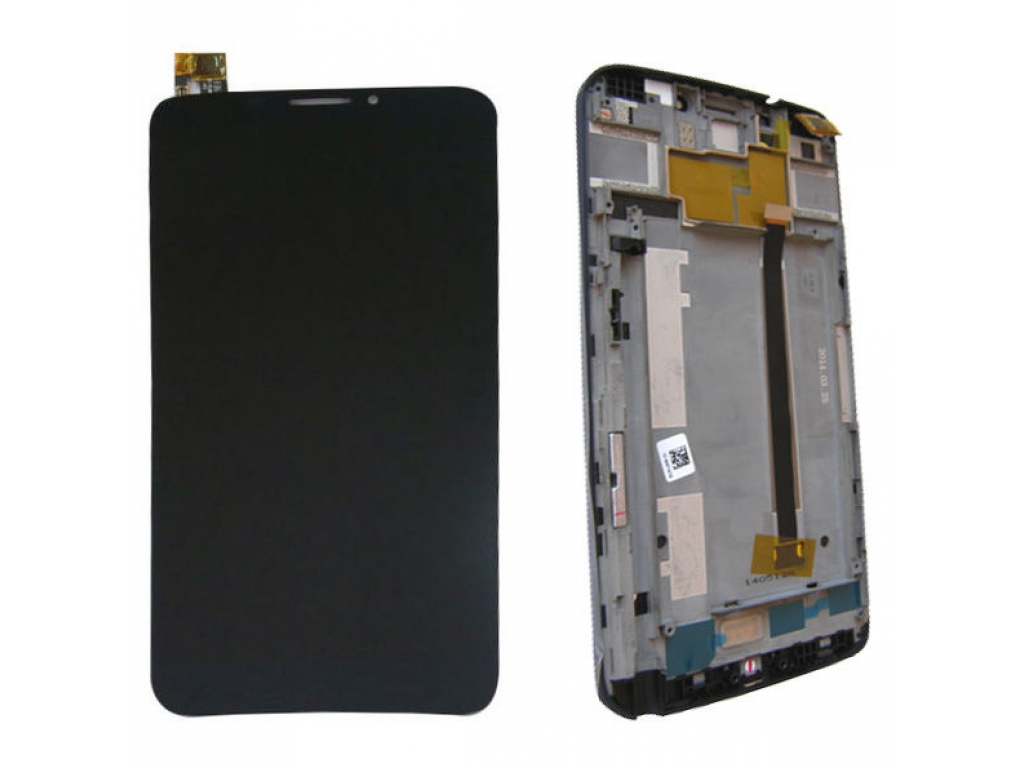 PANTALLA LCD DISPLAY CON TOUCH ALCATEL OT 8020 CON MARCO