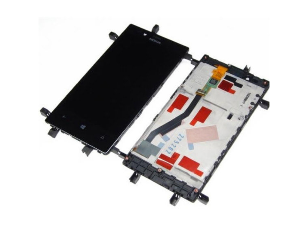 PANTALLA LCD DISPLAY CON TOUCH NOKIA LUMIA 720 INCLUYE MARCO