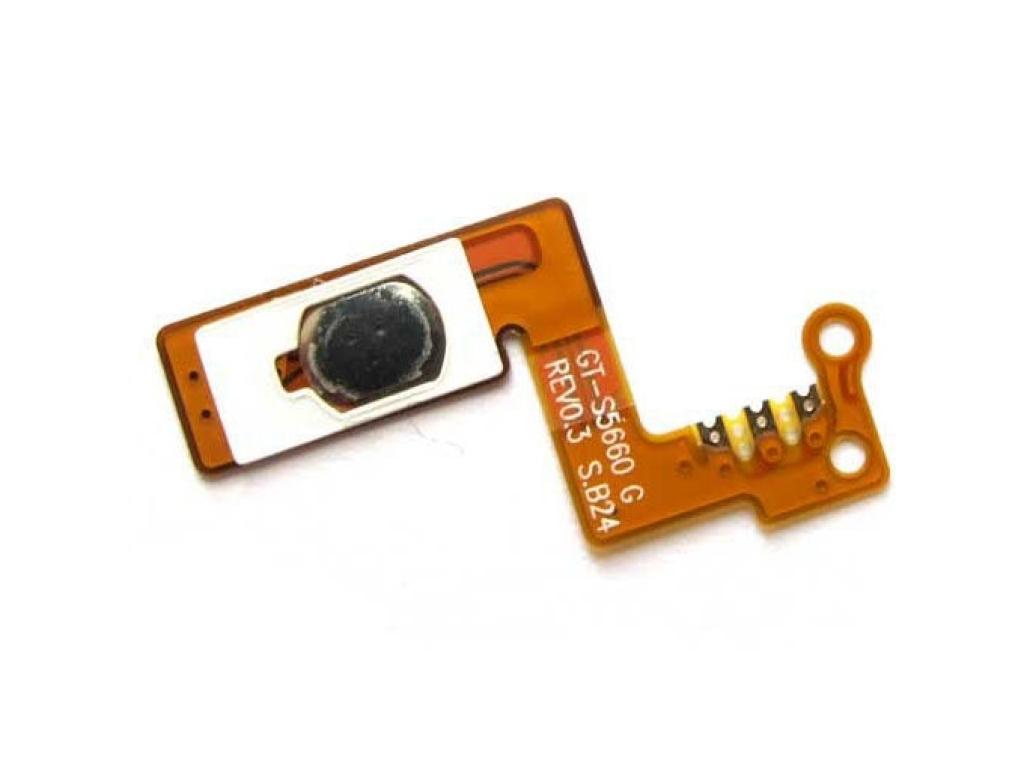 FLEX SAMSUNG S5660 GALAXY GIO ENCENDIDO