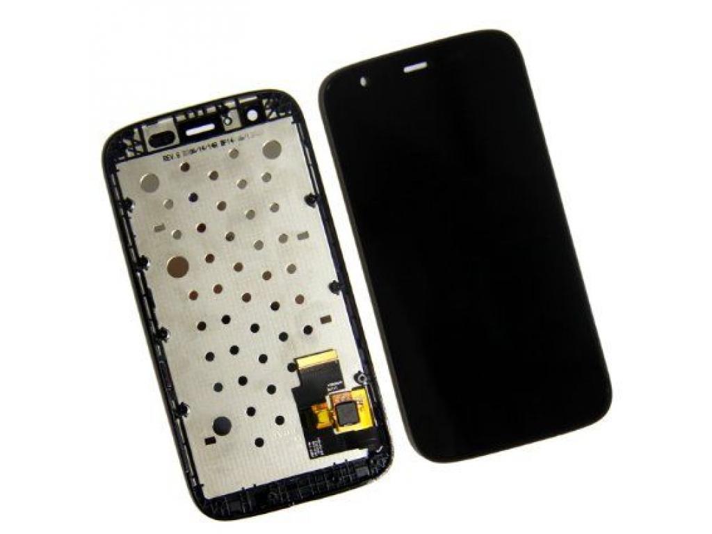PANTALLA LCD DISPLAY CON TOUCH MOTOROLA XT1032 XT1033 XT1036 MOTO G CON MARCO