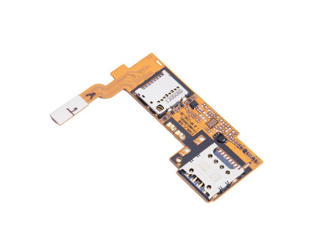 FLEX LG E980 E985 E986 OPTIMUS G PRO LECTOR SIM Y MICRO SD