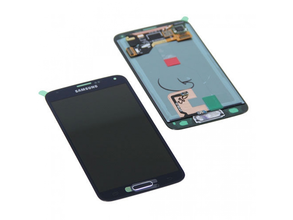PANTALLA LCD DISPLAY CON TOUCH SAMSUNG G800 GALAXY S5 MINI NEGRO