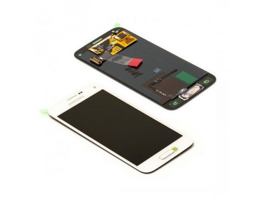 PANTALLA LCD DISPLAY CON TOUCH SAMSUNG G800 GALAXY S5 MINI BLANCO