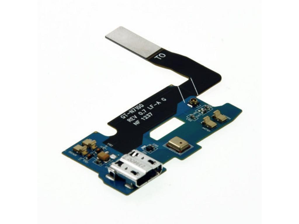 FLEX SAMSUNG GALAXY NOTE 2 N7100 CONECTOR DE CARGA MICROFONO Y ANTENA