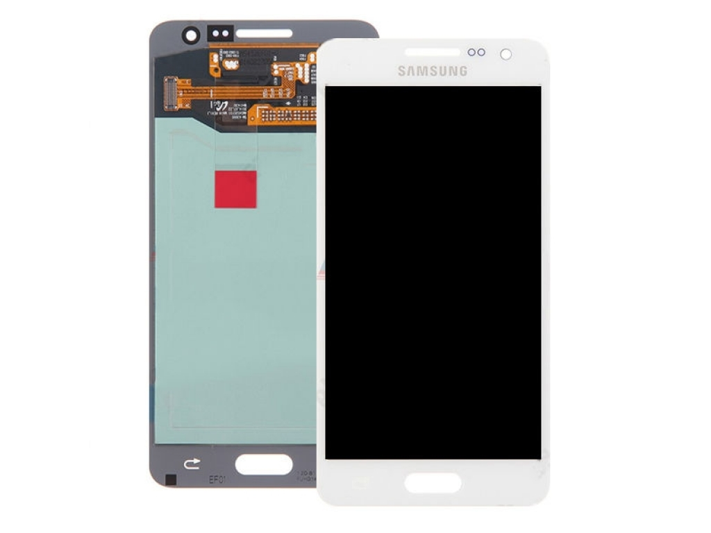 PANTALLA LCD DISPLAY CON TOUCH SAMSUNG A3 A300 GALAXY ALPHA BLANCA