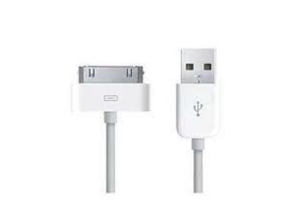 CABLE USB CARGA Y DATOS IPHONE 2G 3G 3GS 4G 4GS IPAD 1 2 3 IPOD