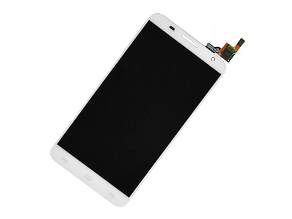 PANTALLA LCD DISPLAY CON TOUCH ALCATEL OT6050 IDOL 2 S BLANCA SIN MARCO