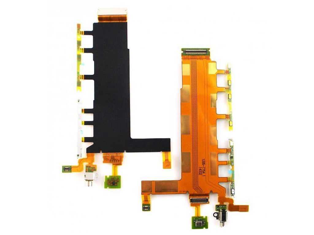 FLEX SONY D6633 XPERIA Z3 DUAL SIM BOTONES LATERALES VIBRADOR MICROFONO