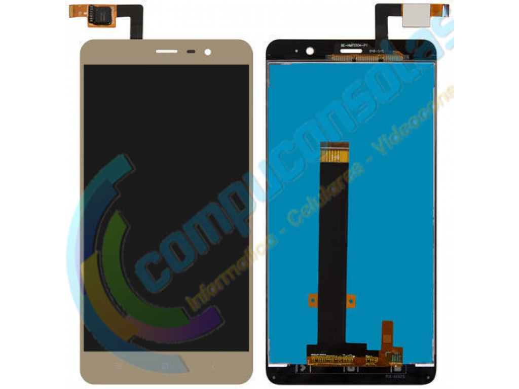 PANTALLA LCD DISPLAY CON TOUCH XIAOMI REDMI NOTE 3 PRO 152mm DORADO
