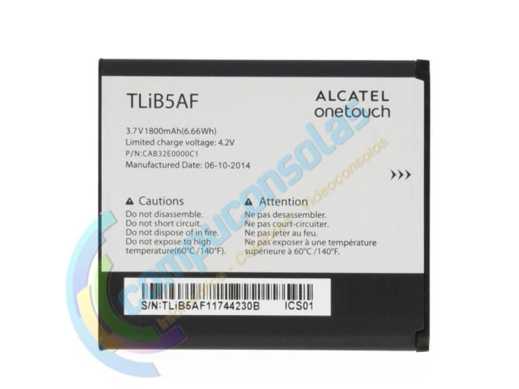 BATERIA ALCATEL X POP C5 5035 5036 997D TLIB5AF