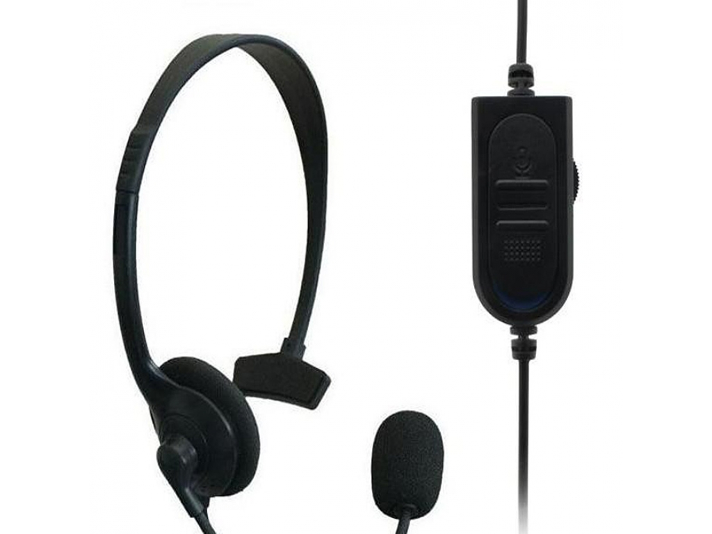 AURICULARES CON MICROFONO CHAT MONOAURAL PLAYSTATION 4