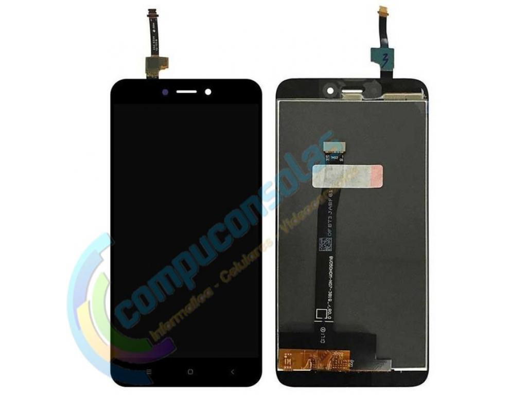 PANTALLA LCD DISPLAY CON TOUCH XIAOMI REDMI 4X NEGRA