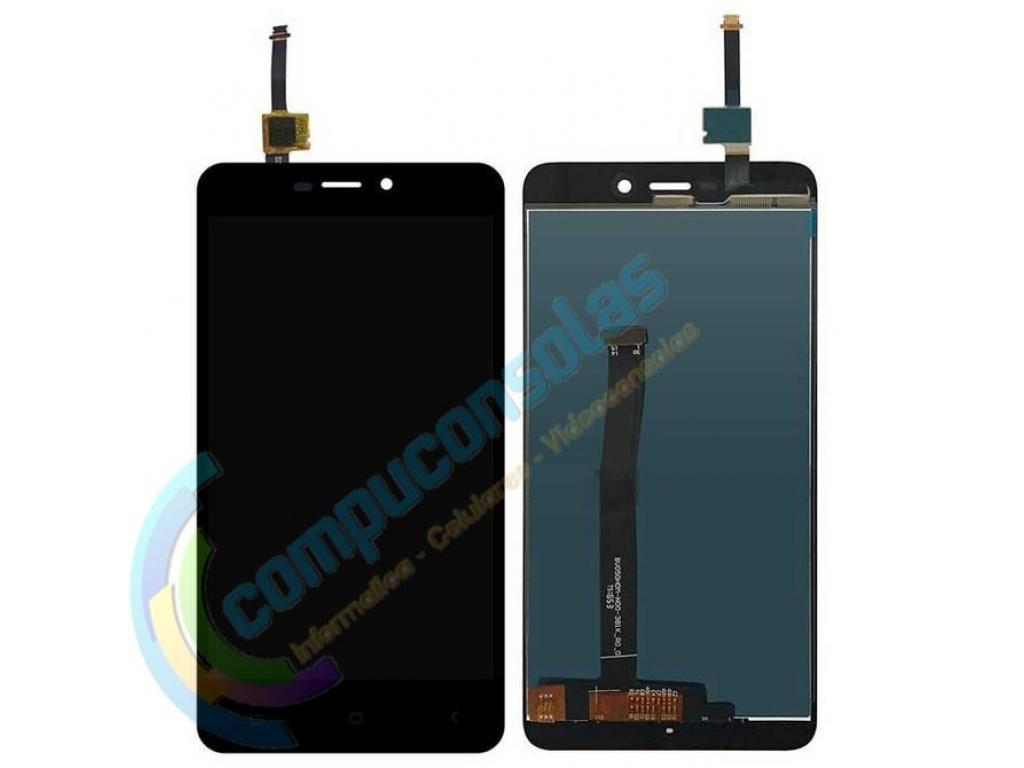 PANTALLA LCD DISPLAY CON TOUCH XIAOMI REDMI 4A NEGRA
